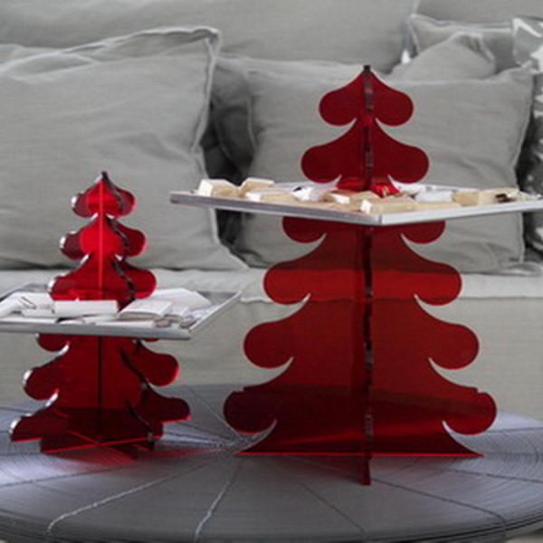 christmas hanging tray 2sizes - acrylics