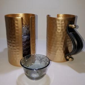coffee cups holder aluminium 1