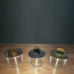 Candy-Jars-in-Glass-with-Copper-Cover